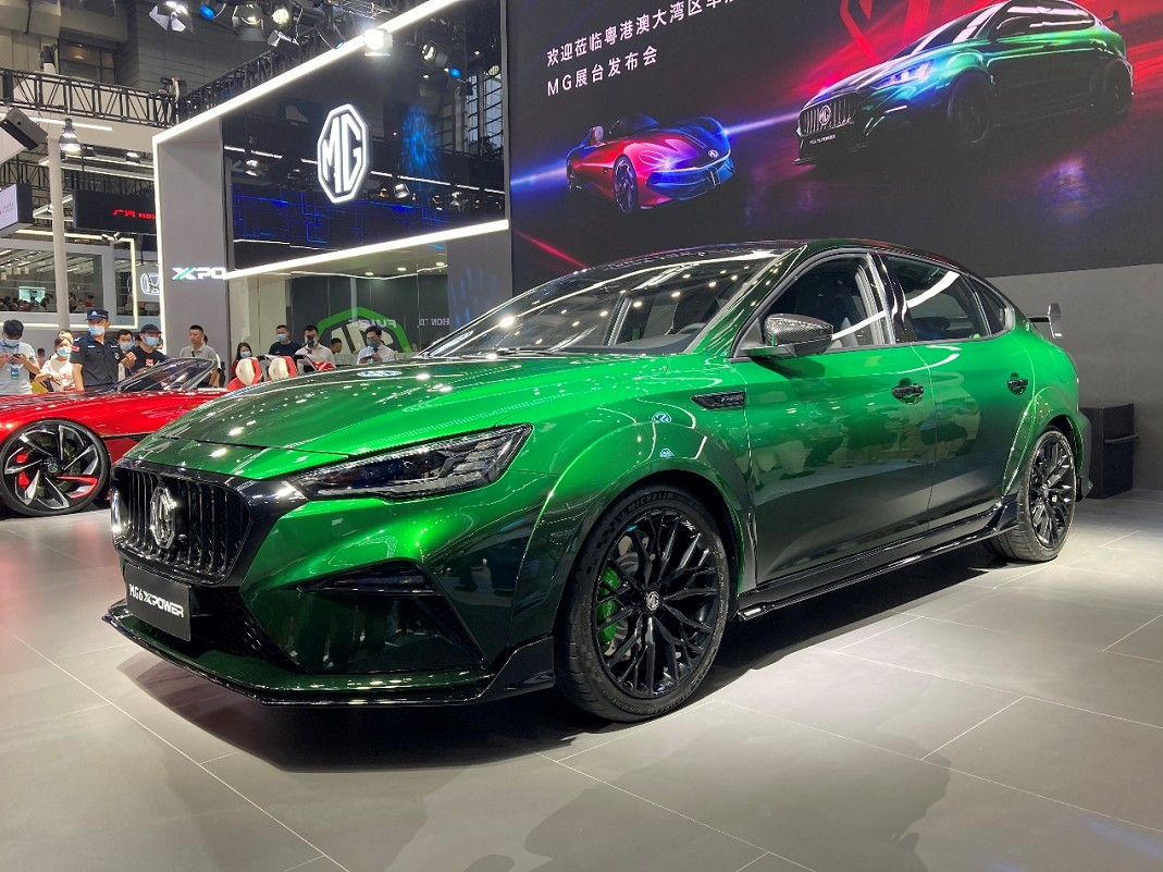 MG has started taking pre-orders for the MG6 XPower, a sported-up version of its '6' liftback complete with aggressive styling and a class-leading powertrain.