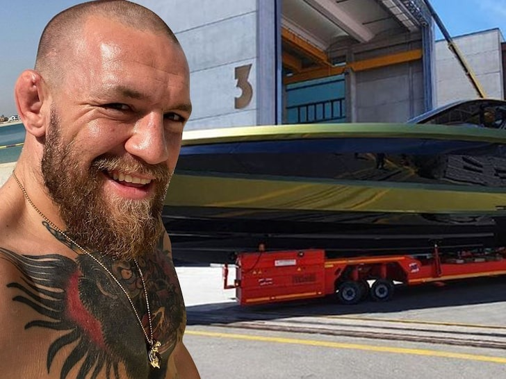Apparently, famous Irish fighter Connor McGregor likes racing across vast expanses of water every bit as much as on land. In a recent social media post, he revealed his latest acquisition: a Lamborghini 63 yacht built by Tecnomar.