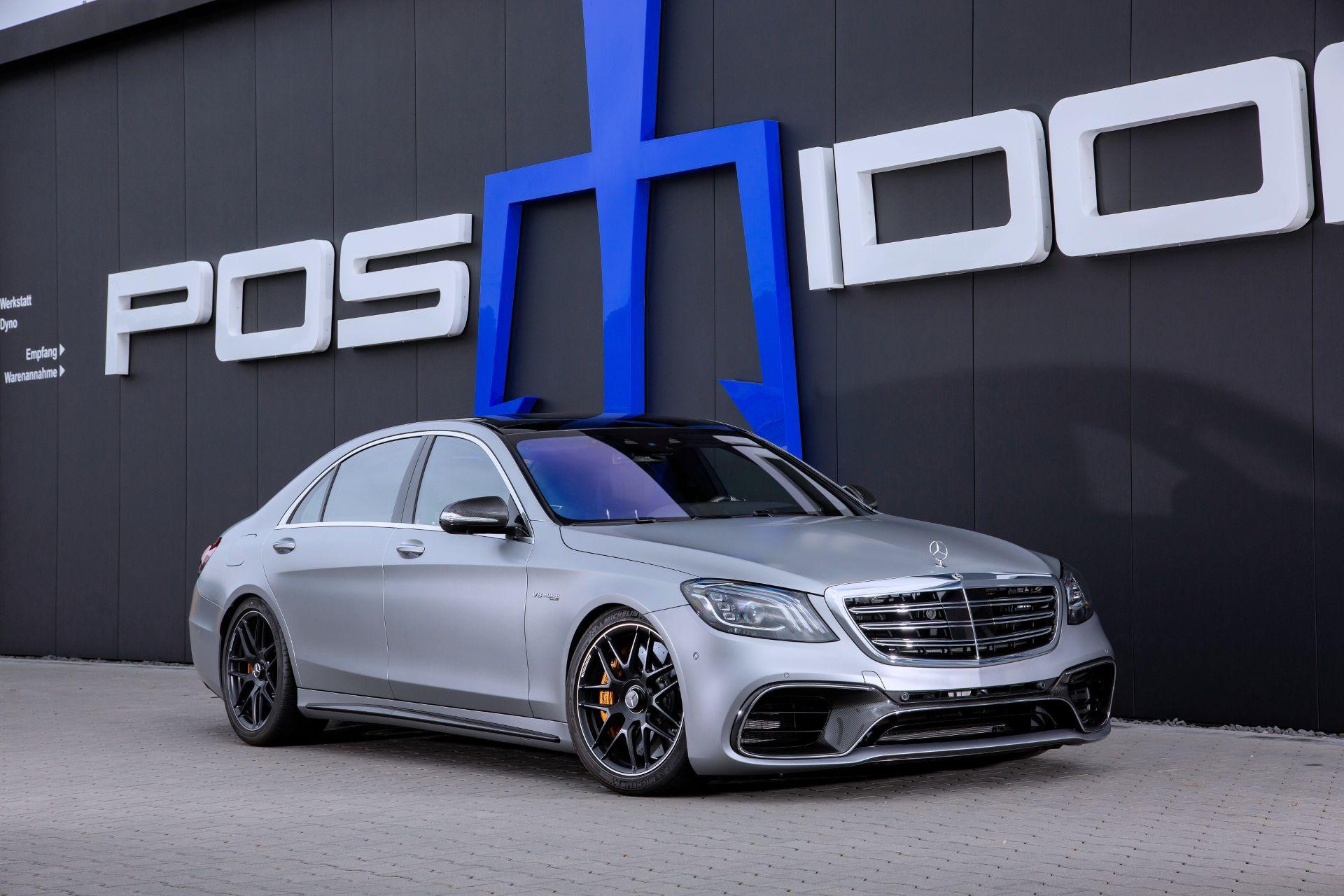 Немецкая мастерская тюнинга Posaidon стартовала продажи доработок двигателя Mercedes-AMG S63 (W222). По традиции, флагманский седан прошлого поколения получил ряд вариантов форсировки на выбор.