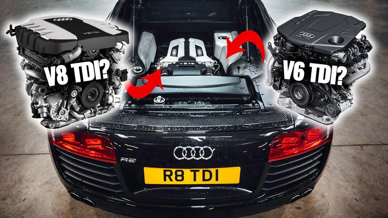 Покупая среднемоторный спорткар уровня Audi R8, большинство водителей мечтает видеть под капотом бензиновый двигатель с 8 или 10 цилиндрами – именно такие варианты и предлагает производитель. Но тюнинг-ателье Darkside Developments решило поискать альтернативы.