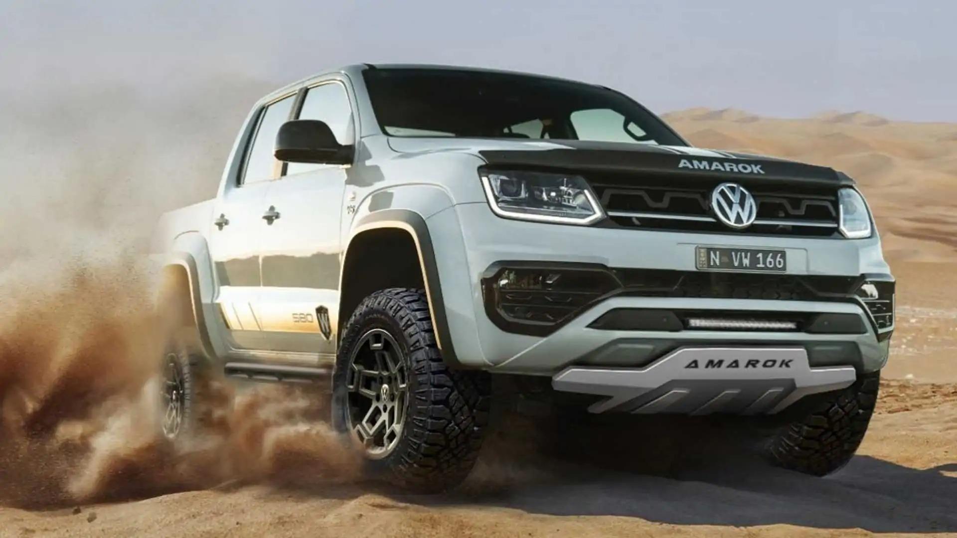 Volkswagen Amarok уже давно присутствует на рынке, и в настоящее время он готовится сменить поколение. Тем временем австралийский офис объединился с местным тюнером Walkinshaw, чтобы выпустить особо внедорожный пикап.