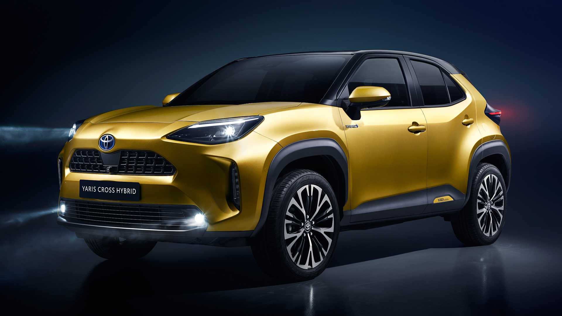 According to reports of Japanese mass media, premium carmaker Lexus is busy developing a small crossover SUV based on the later Toyota Yaris Cross (shown here).
