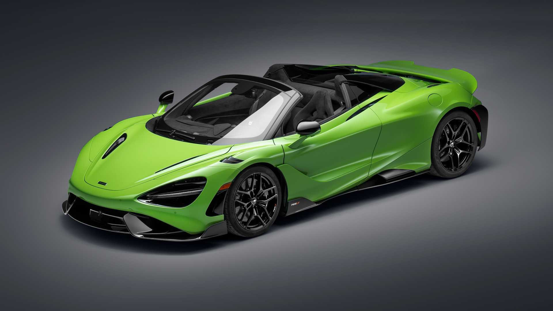 McLaren has officially introduced the 765LT Spider, an open-top supercar limited to 765 production units. One-third of the batch will be sold in the United States starting from $407,000.