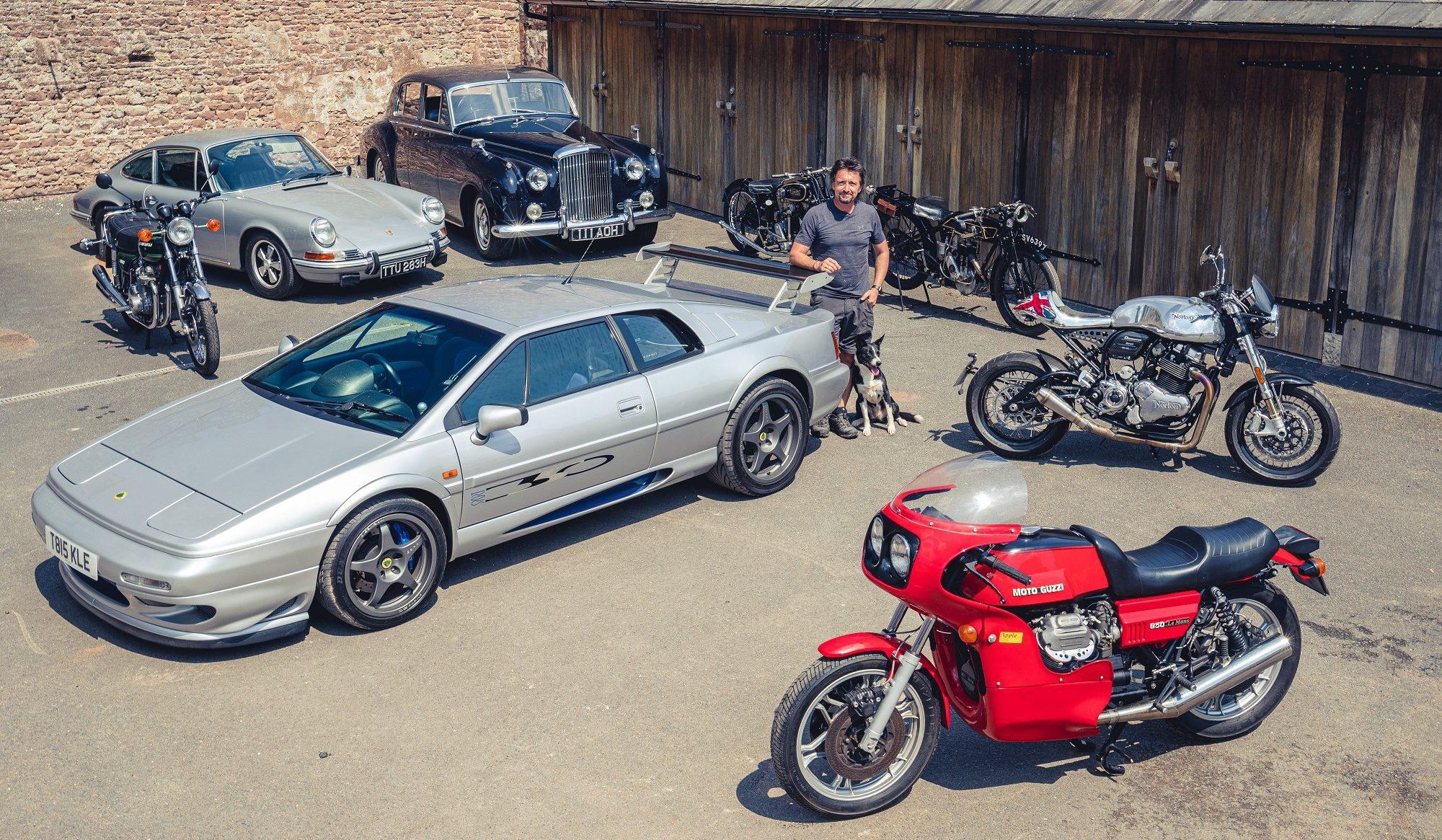 Ведущий Top Gear и The Grand Tour Ричард Хаммонд решил продать восемь машин и мотоциклов.