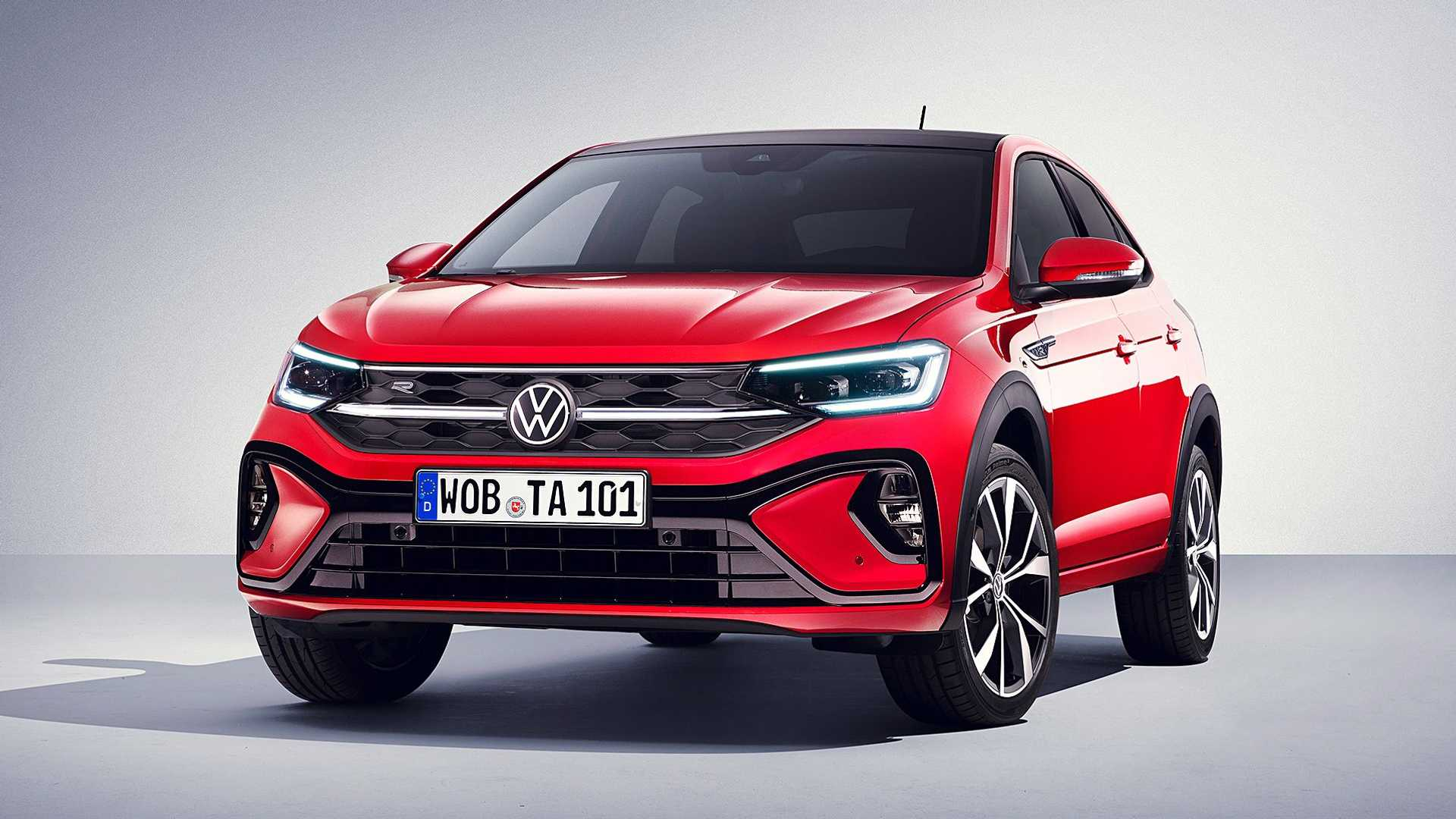 Volkswagen has introduced another all-new car, a coupe-like crossover utility vehicle named the Taigo. It will be assembled in Spain and be available in most countries across Europe, as well as Turkey and Africa.