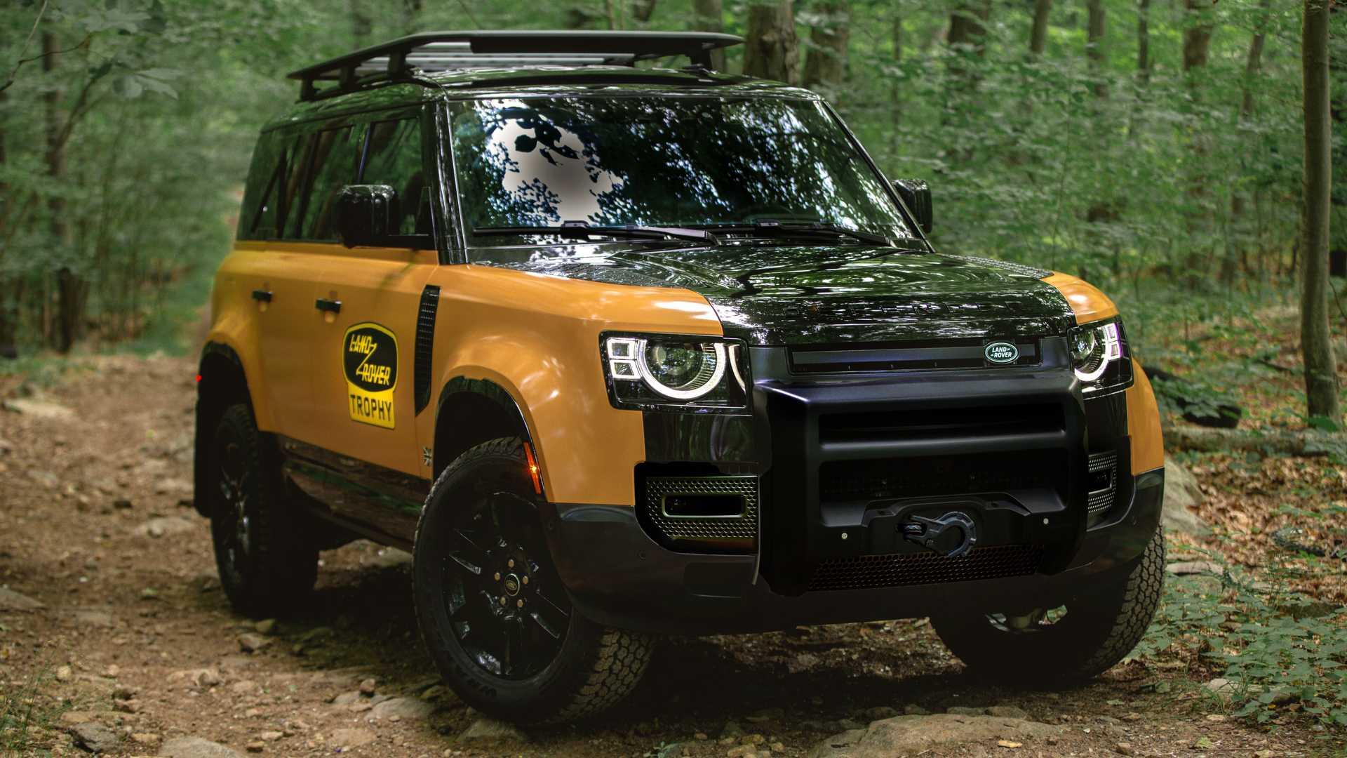 Land Rover презентовал особо внедорожное исполнение Defender под названием Trophy Edition. Издание будет ограничено 220 единицами для США, а продажи стартуют уже в августе по цене от $90 000.