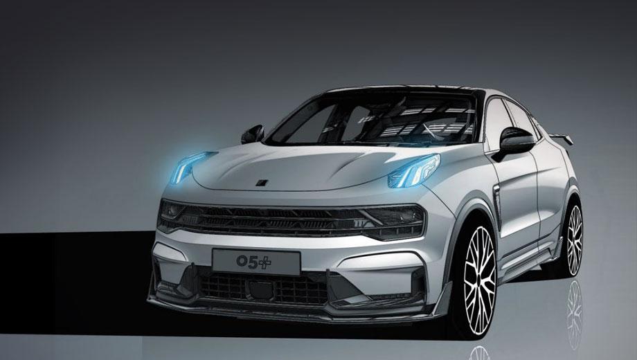 К моделям Lynk & Co 02 Hatchback и 03+ скоро добавится мощная модификация кросс-купе 05.