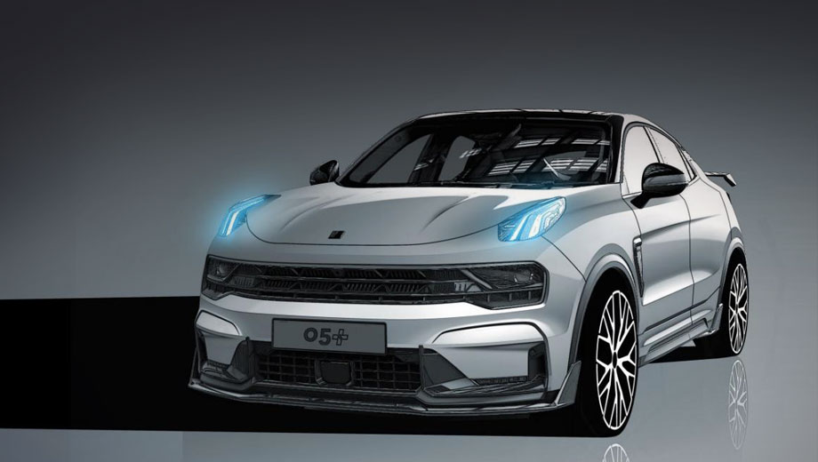 Lynk & Co already has a few performance-focused models in its portfolio, including the 02 Hatchback and the 03+, and a new one is on its way to the market based on the coupe-SUV 05.