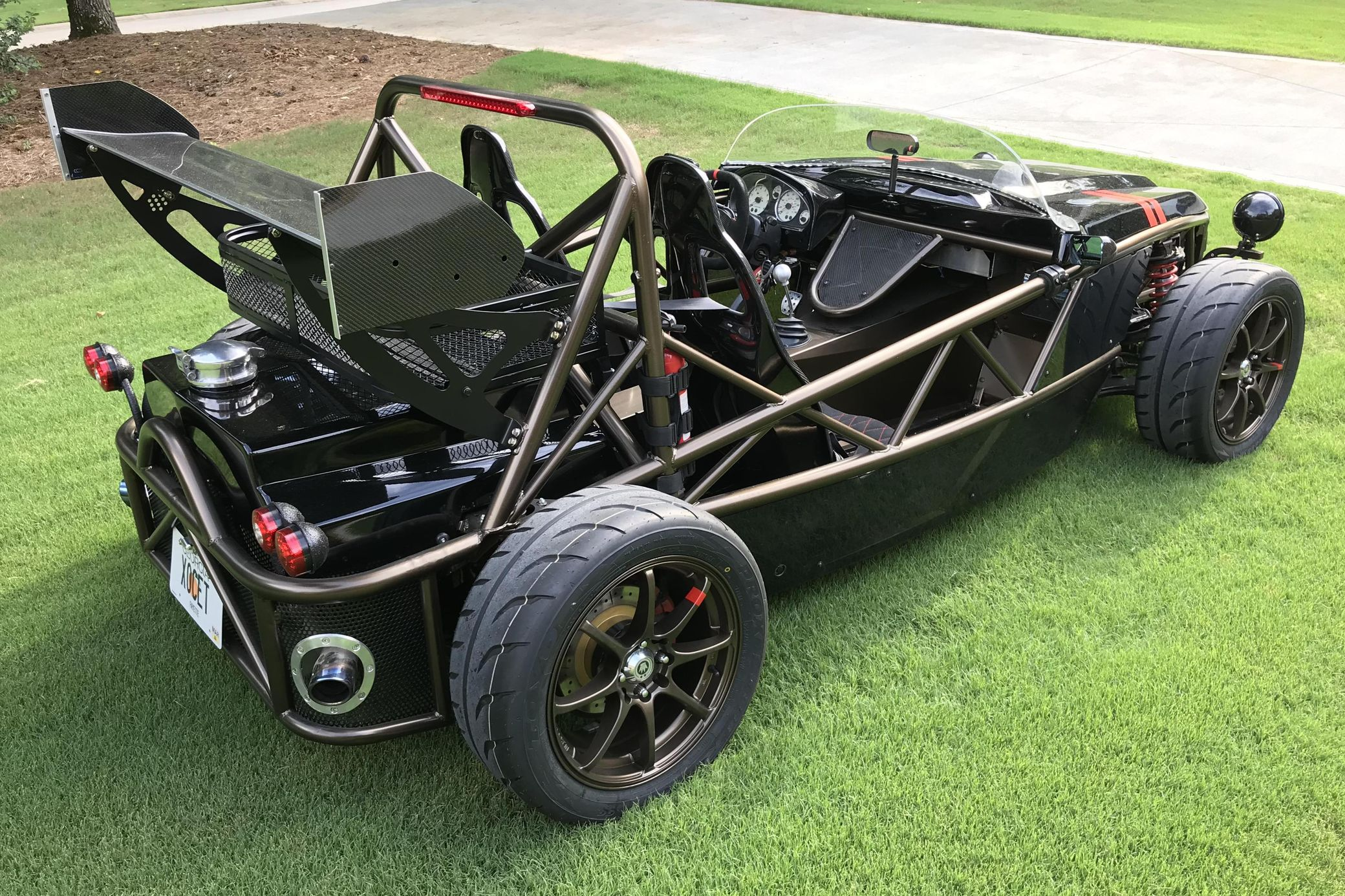 The Exomotive Exocet sports car pictured here was built three years ago based on the 2001 Mazda MX-5 Miata chassis, although you will be forgiven for not recognizing the donor anymore.