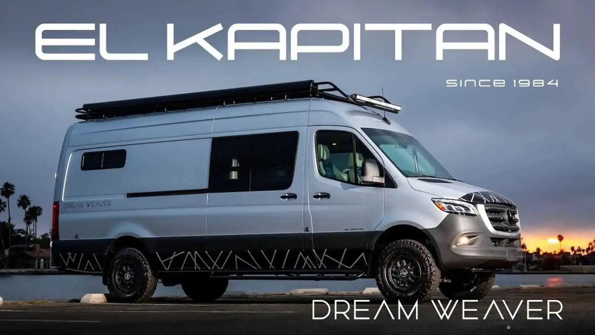 Сделать идеальный кемпер для путешествий – весьма сложная задача. Тем не менее, фирма El Kapitan Van попыталась решить ее своим новым предложением под названием Dream Weaver.