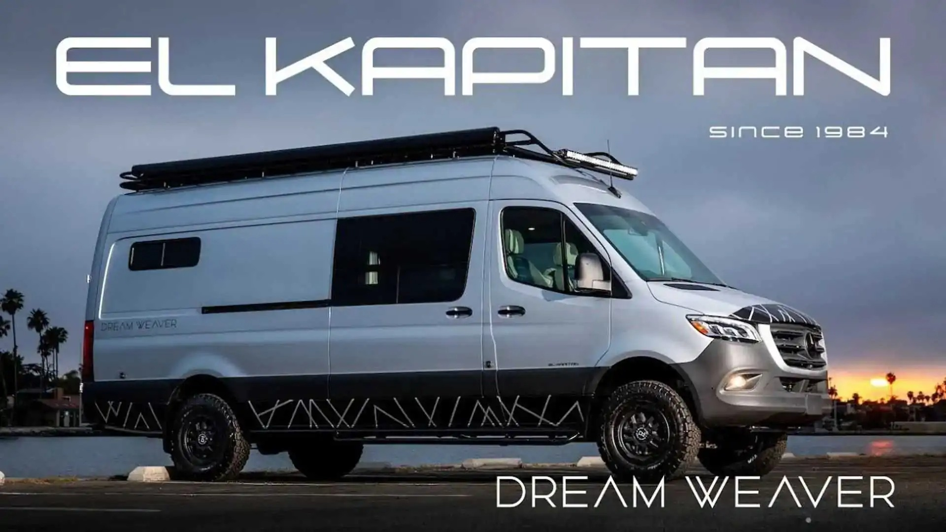 Creating an ideal RV for traveling is a challenging task, but it looks like El Kapitan Van knows what it is doing with its Dream Weaver campervan.