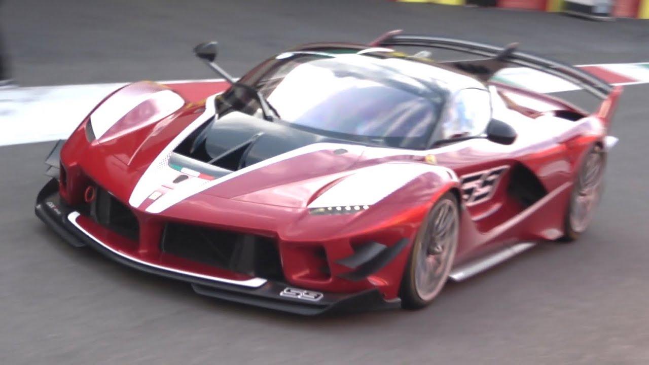 На YouTube опубликовано видео с участием супергибрида Ferrari FXX K Evo: купе пронеслось по трассе Муджелло под рёв мотора V12.