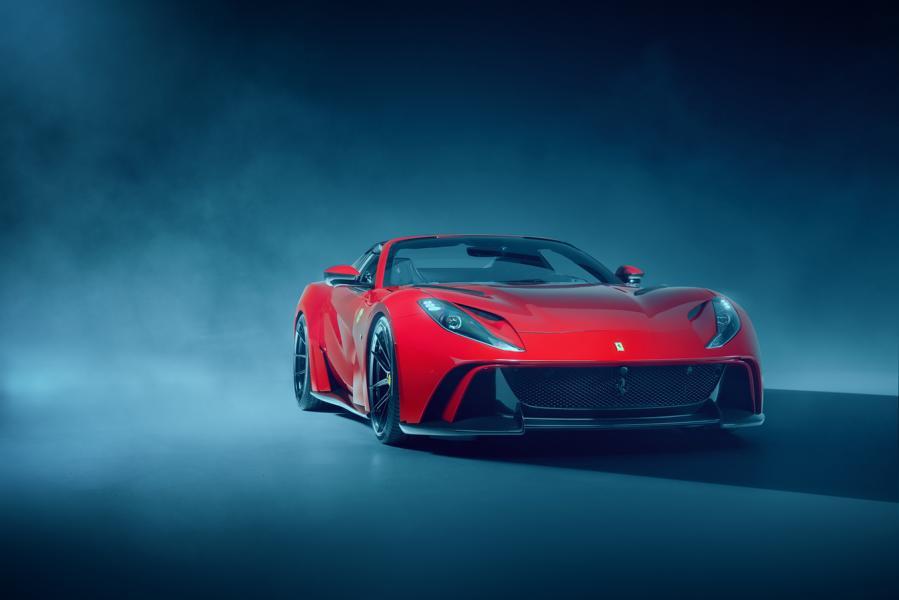 Под маркой N-Largo немецкое тюнинг-ателье Novitec уже несколько лет выпускает самые дорогие и изысканные версии спортивных автомобилей ведущих мировых брендов. Очередным пополнением линейки стал кабриолет Ferrari 812 GTS.