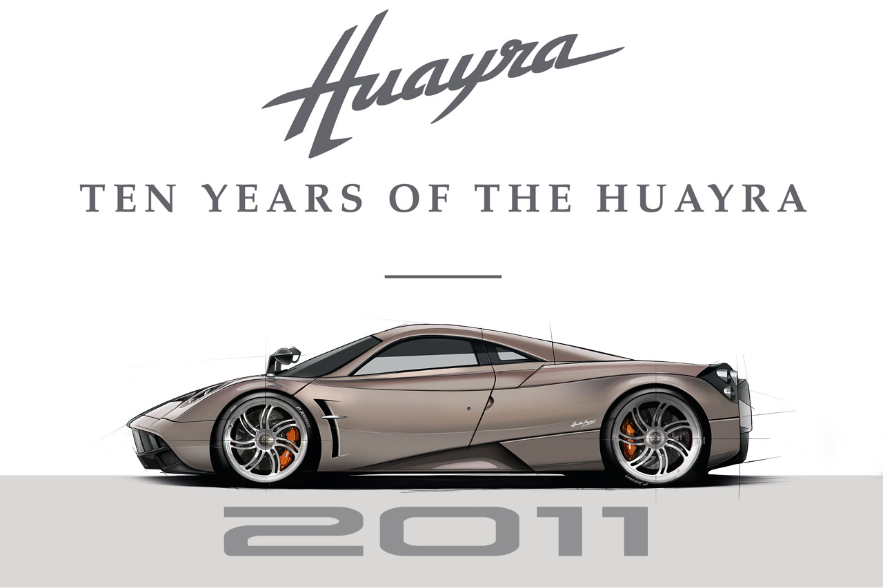However hard to believe it might be, the Pagani Huayra is already ten years old, and the Italian carmaker will be bringing a whole handful of differently customized Huayras to the Monterey Car Week in California to celebrate the milestone.