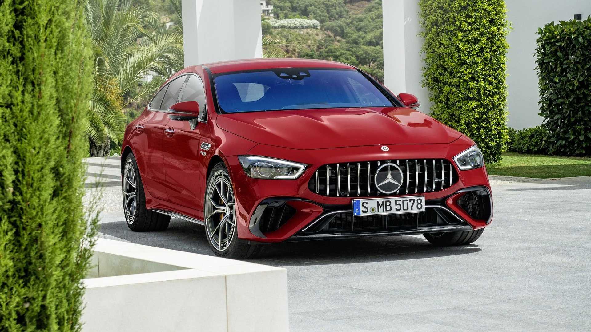 Mercedes-AMG представил свою самую мощную модель, и это хетчбэк GT 63 S E Performance. Для подразделения это первый гибрид.
