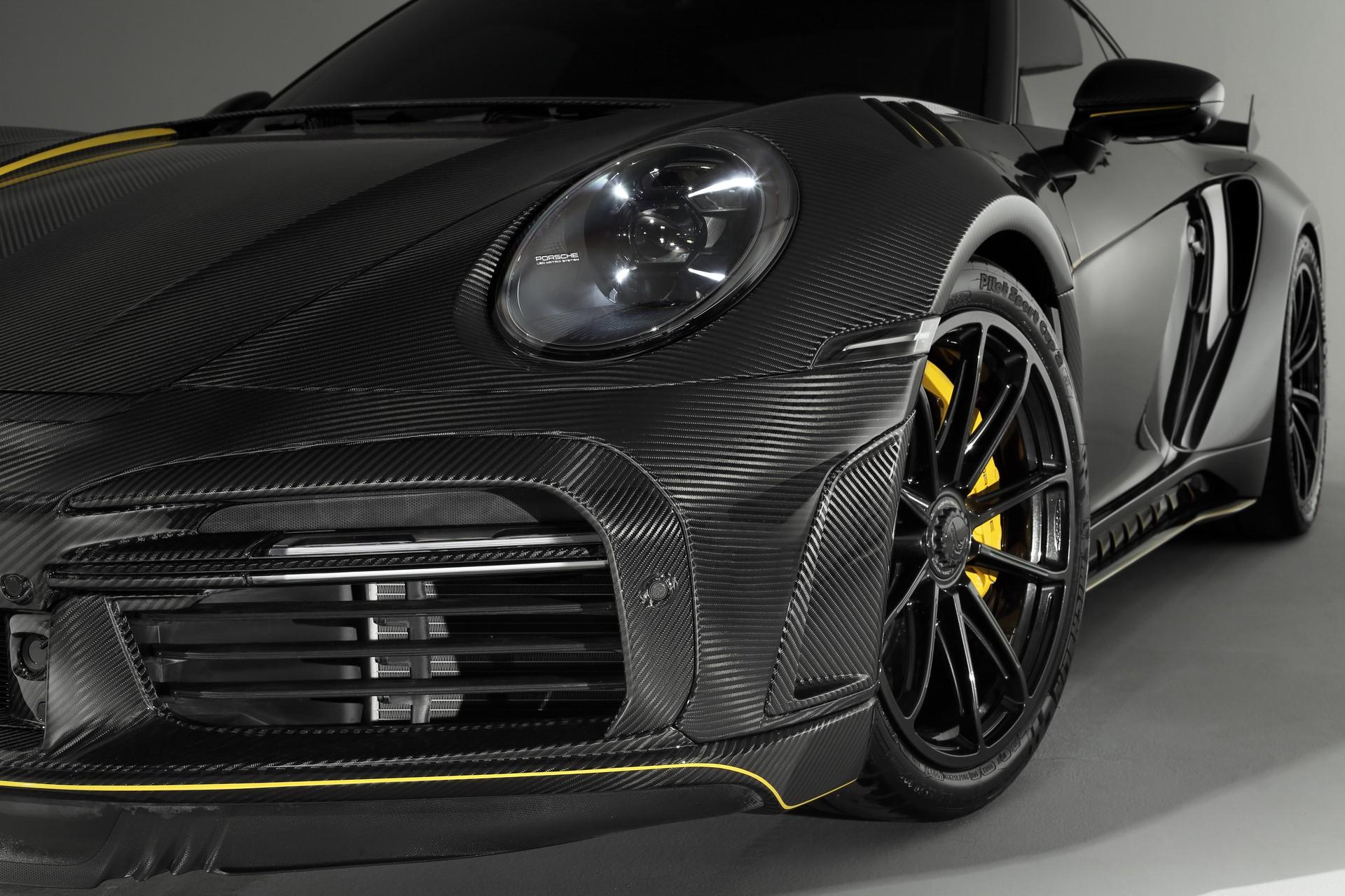 Российское тюнинг-ателье TopCar выпустит всего 13 единиц Porsche 911 (992) в ультраэксклюзивном исполнении Stinger GTR Limited Carbon Edition. Что же предлагается за шестизначную сумму в евро?