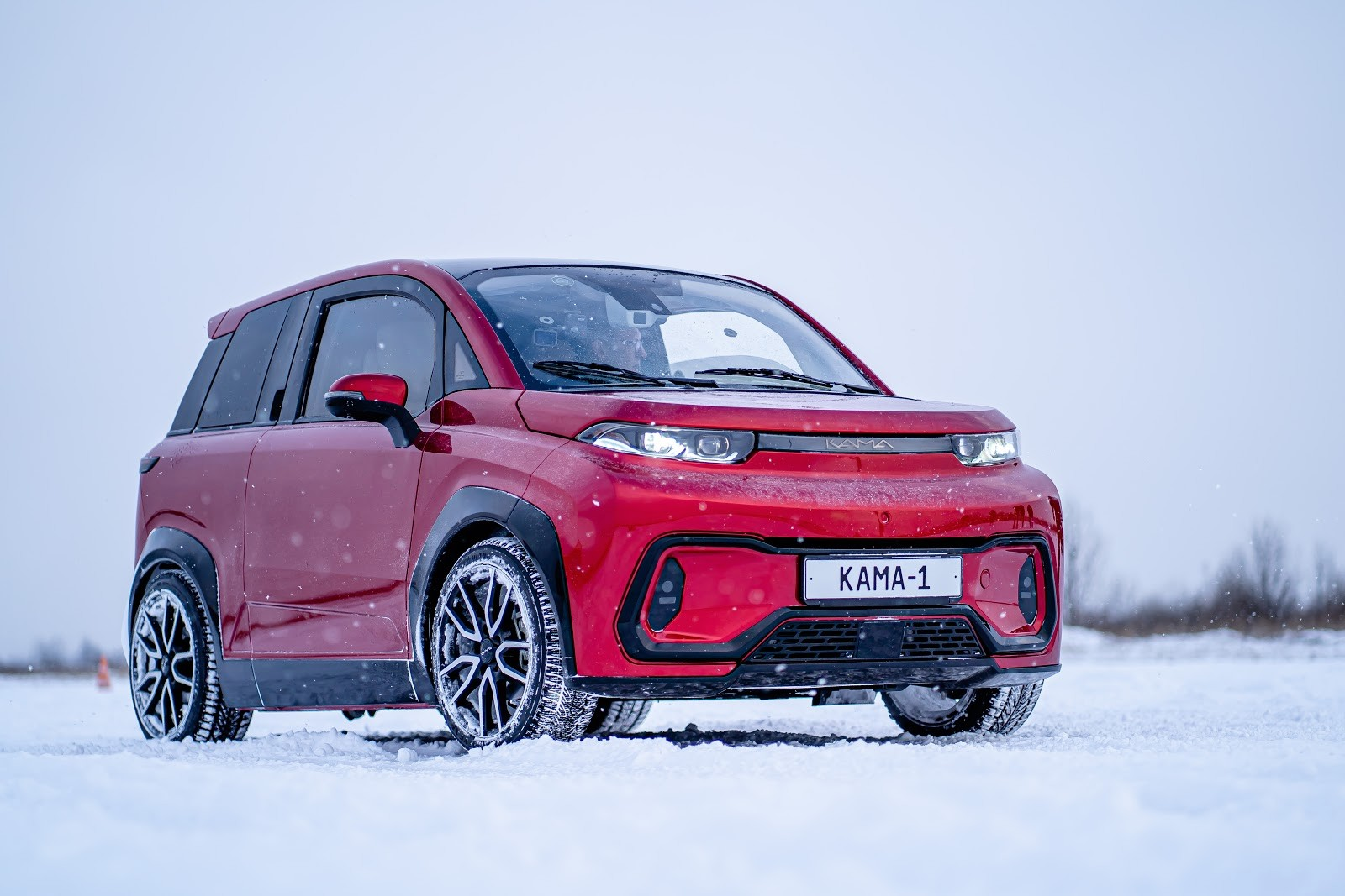 KamAZ Automotive Plant has revealed its plans for the compact-sized all-electric hatchback set to become Russia's first production EV.
