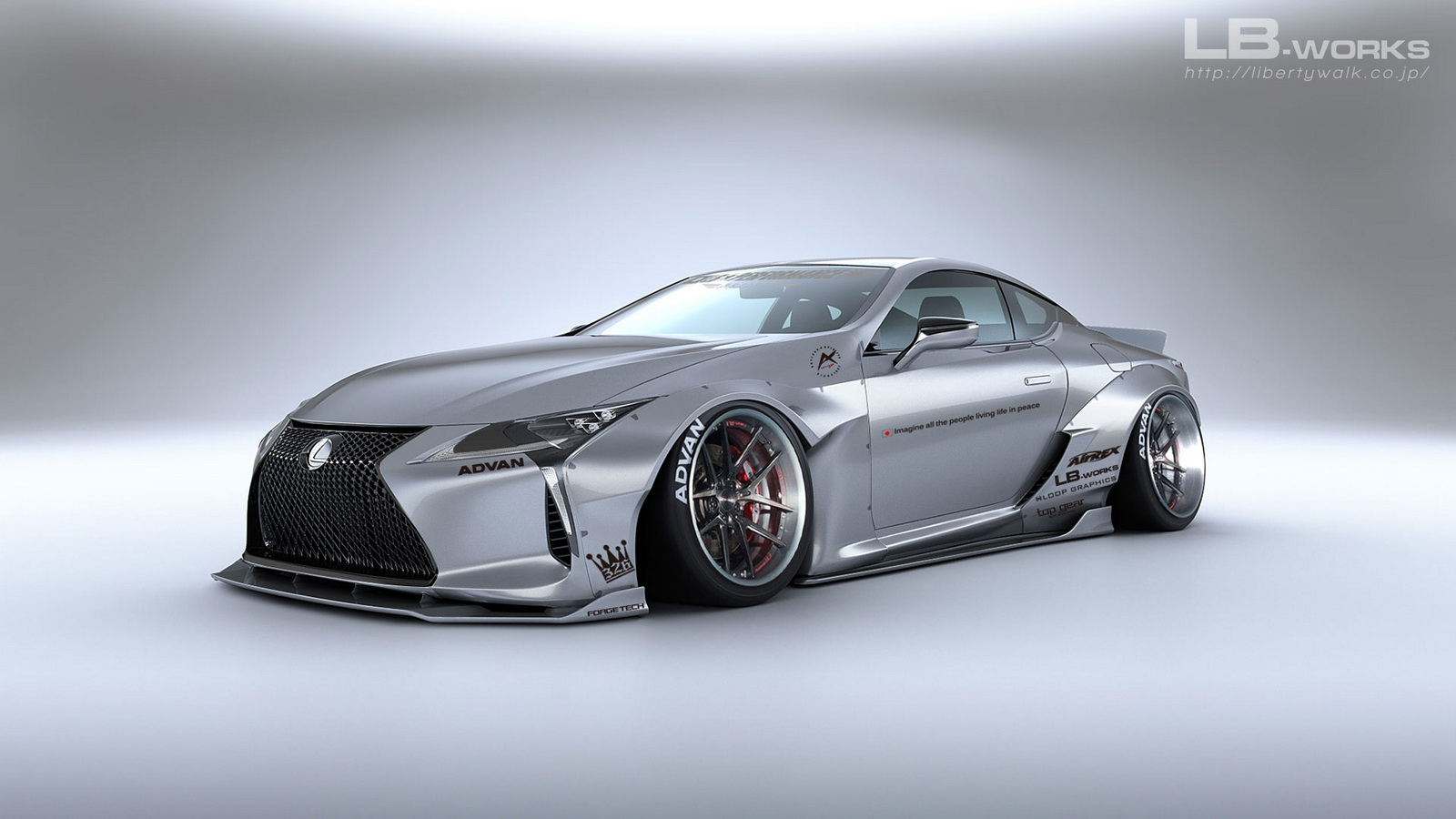 As a result, body kits for the Lexus LC 500 and the LC 500h were released