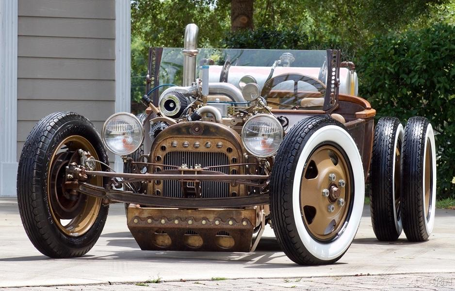 The person who ordered this 1918 Dodge 30 restomod wanted it with a modern luxury trim and a powerful diesel engine, and this is how it turned out.