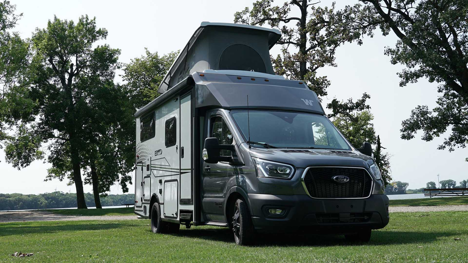 Nearly 10 months after revealing its Ekko campervan, Winnebago has introduced a new variant of it dubbed the Pop Top.