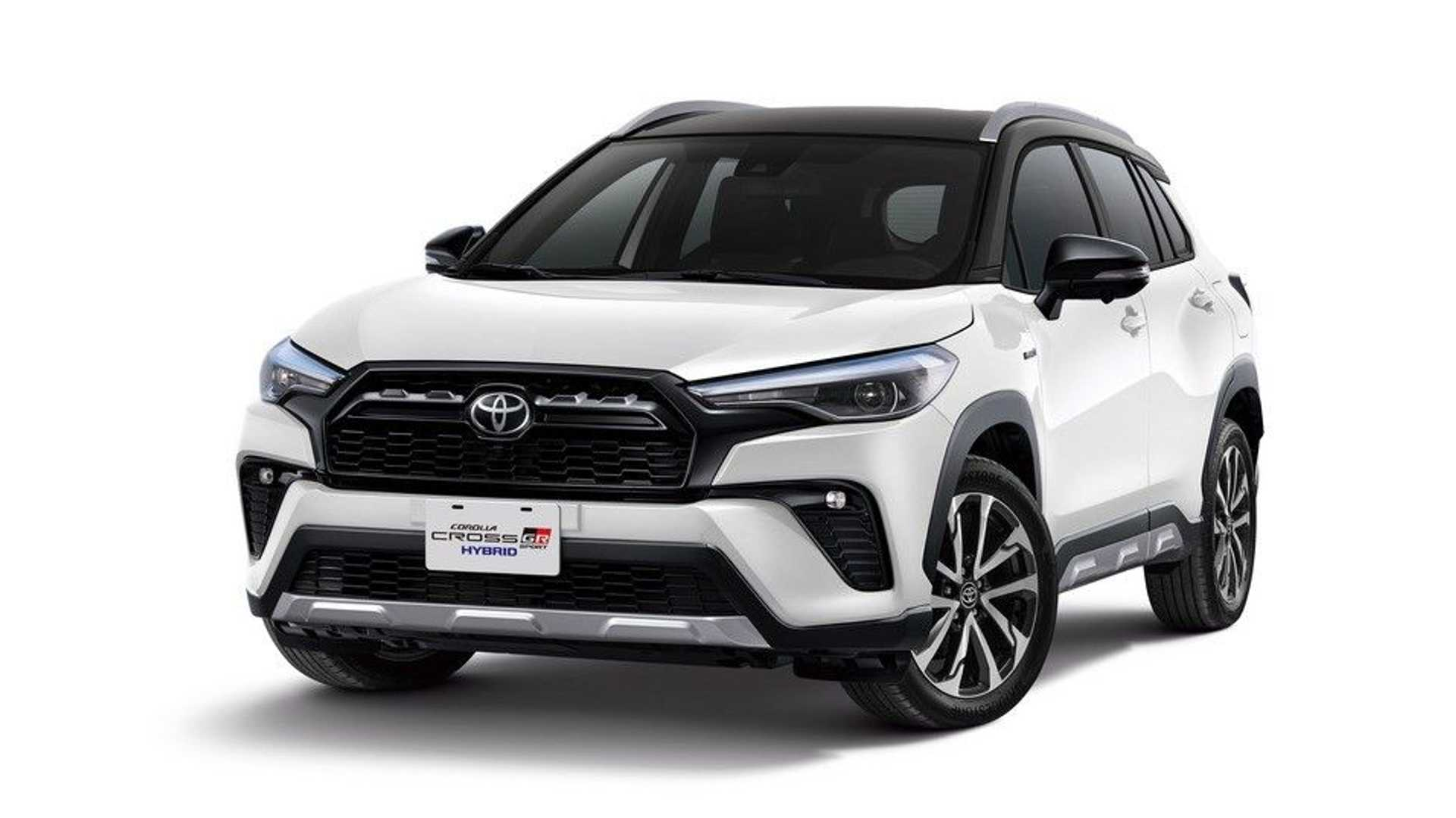 As we know, Toyota plans to make GR Sport versions of its entire lineup. The Fortuner and the Hilux are some of the already existing examples, and now, Corolla Cross joins the list, too.