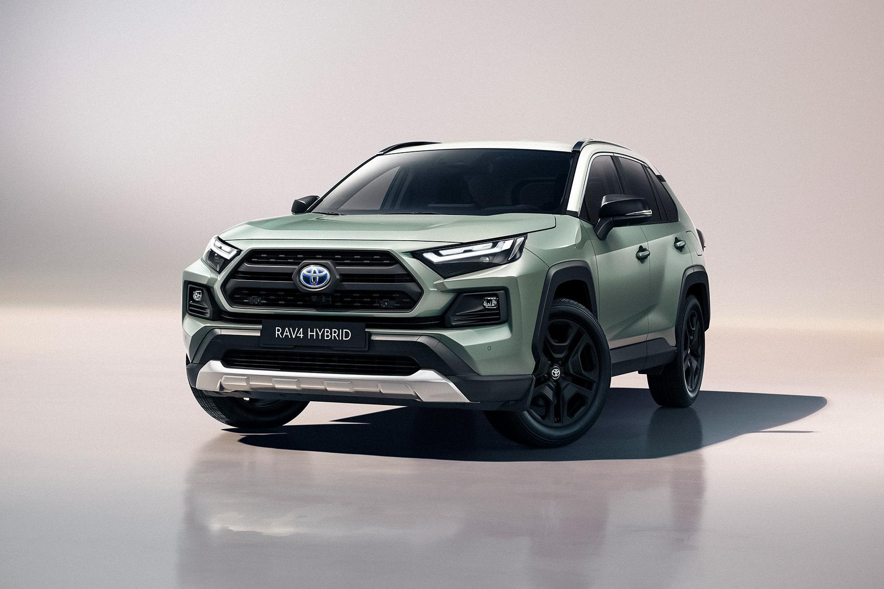 Toyota has expanded its RAV4 offer in Europe by introducing Adventure, a new special trim that incorporates all the 2022MY facelift traits.