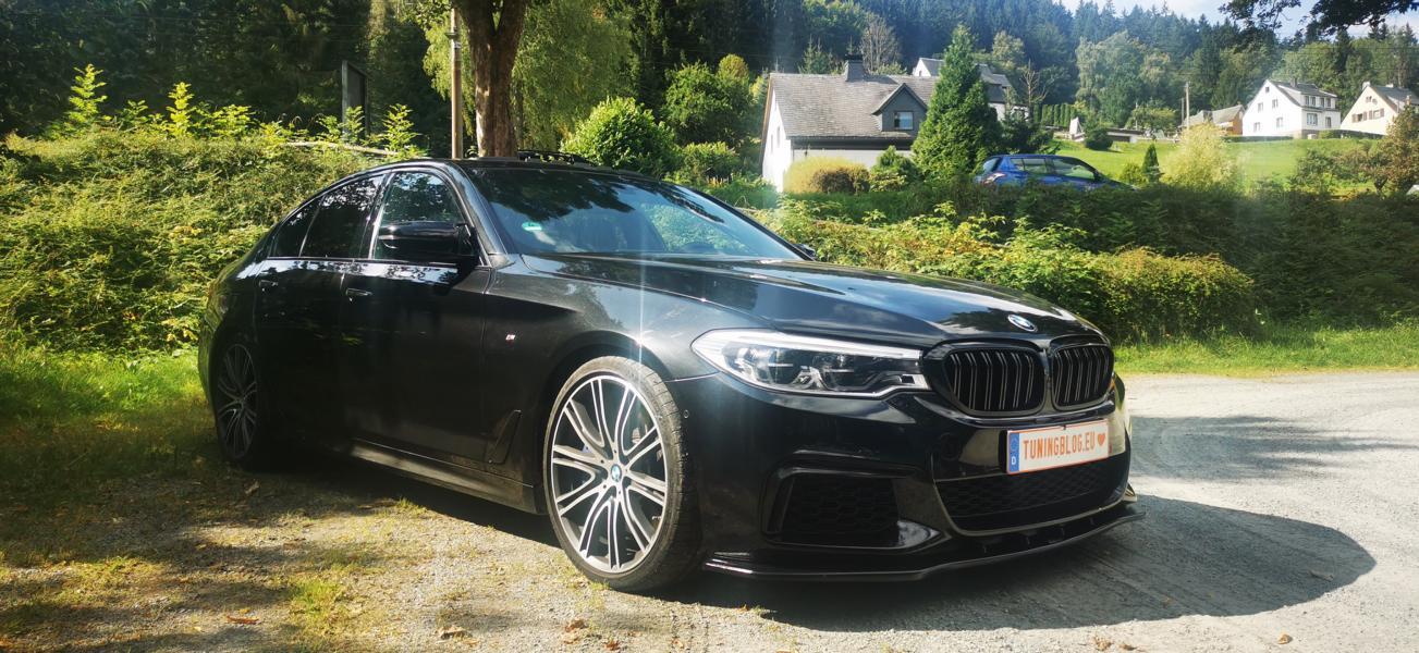 Обычно интернет-портал tuningblog.eu занимается лишь обзорами чужих тюнинг-проектов, но на днях у команды авторов появился свой собственный шоу-кар: дорестайлинговый полноприводный BMW M550i с 550 «лошадками» под капотом.