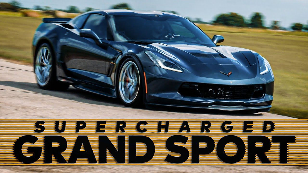 Hennessey Performance finished building another supercar-like Chevrolet C7 Corvette last week, fitting it out with a supercharger and other upgrades. Watch the video to see it in action.