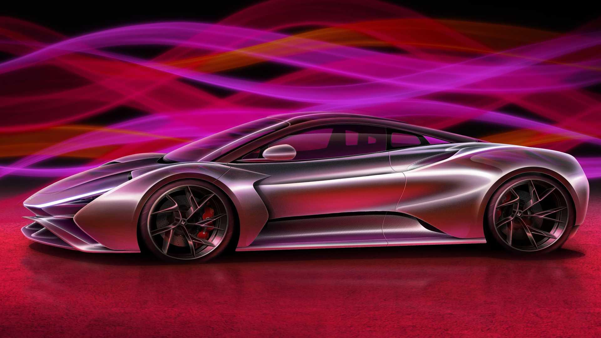 Молодая немецкая компания Elektron Motors анонсировала новую модель – гиперкар Truva (с турецкого переводится как Троя»).