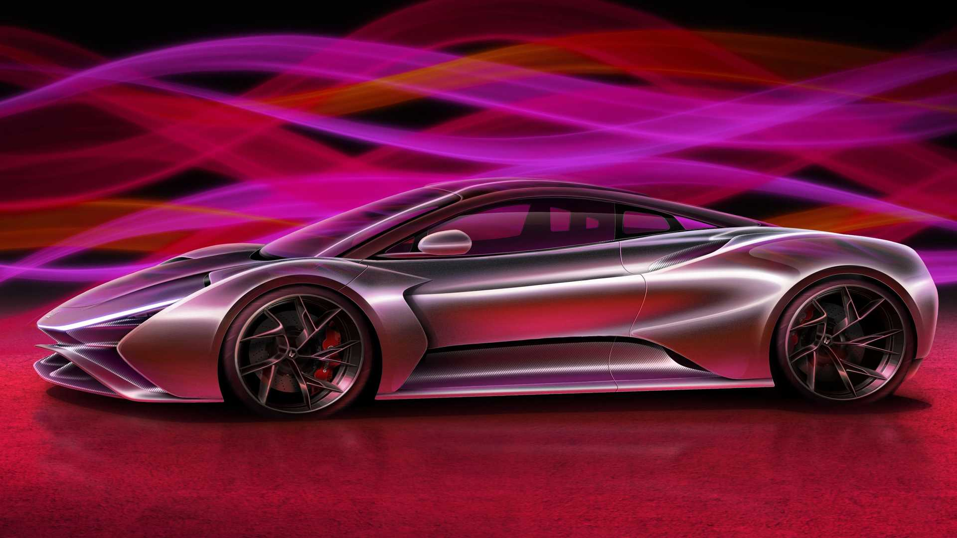 German startup firm Elektron Motors has announced its third project, an all-electric hypercar named Truva ('Troy' in Turkish). Like the company's other projects, it is still a virtual concept at this stage.