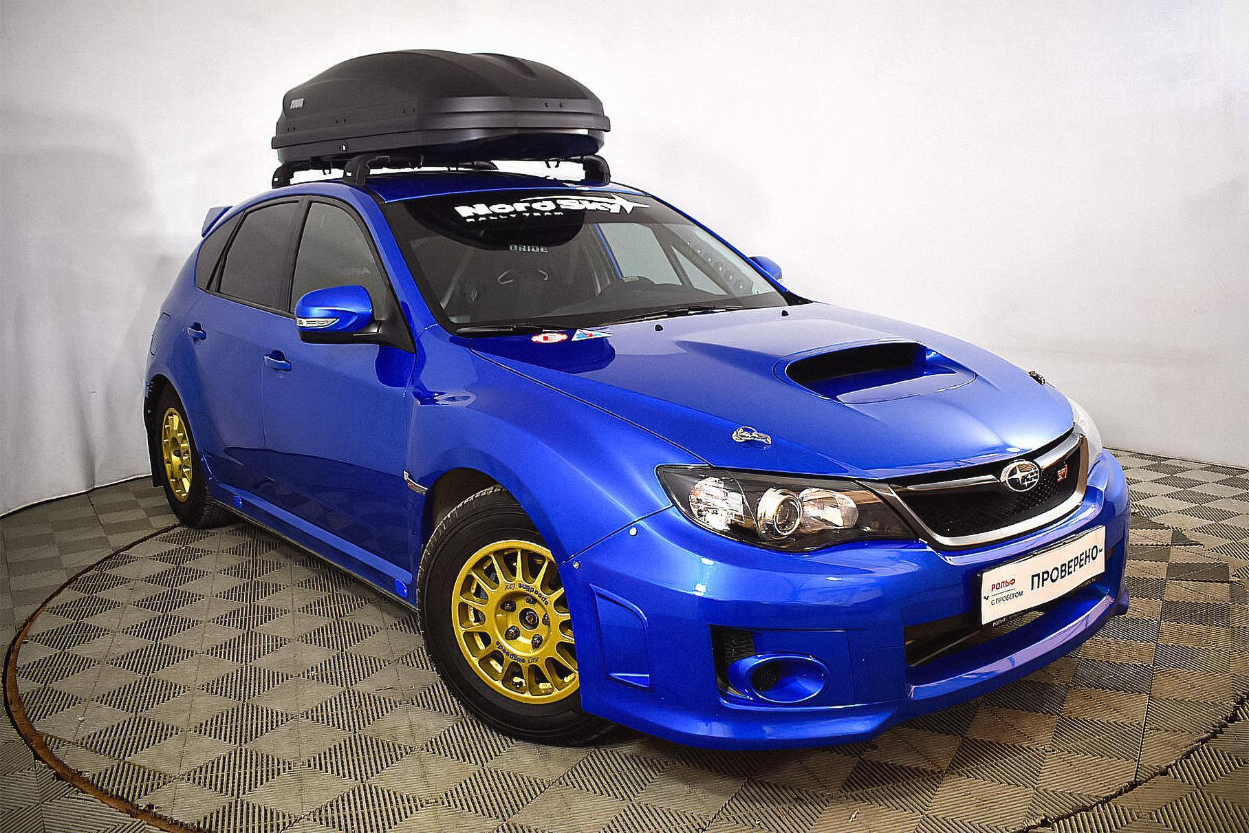 В России продают 14-летний пятидверный хэтчбек Subaru Impreza WRX STi III, проехавший за всё время лишь 3270 км. Скромный пробег обусловлен тем, что спорткар адаптировали для трека.