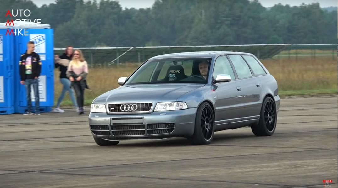 Can a mundane-looking Audi S4 Avant (B5) launch faster than the Bugatti Chiron? You might think the question is rhetorical, but wait until you have seen this extremely tuned example.