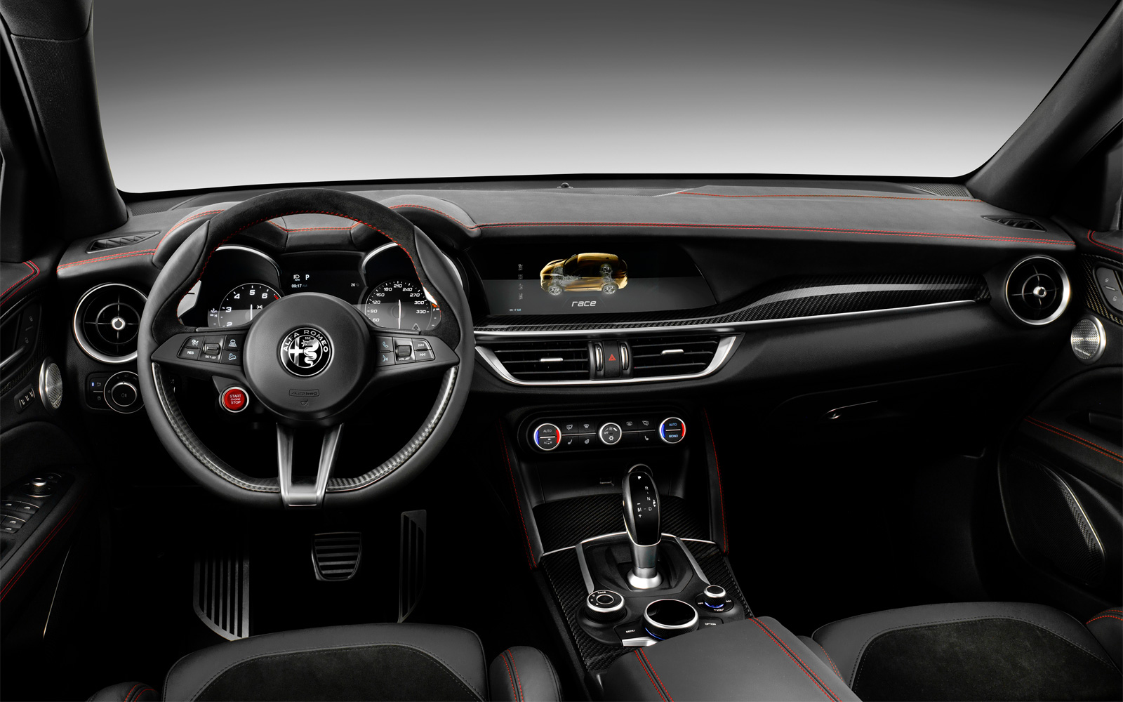 All new Alfa Romeo cars will only have a necessary minimum of screens inside, CEO Jean-Philippe Imparato said in an interview with a French radio station.