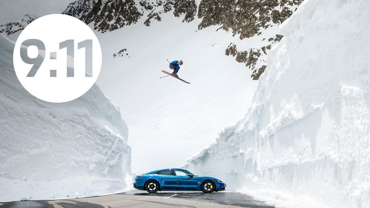 Porsche has posted a short film telling the story of reproducing the scene from a famous photo dating back to 1960. The image showed professional skier Egon Zimmermann jumping over a 356 B Coupe parked between two steep snowy slopes.