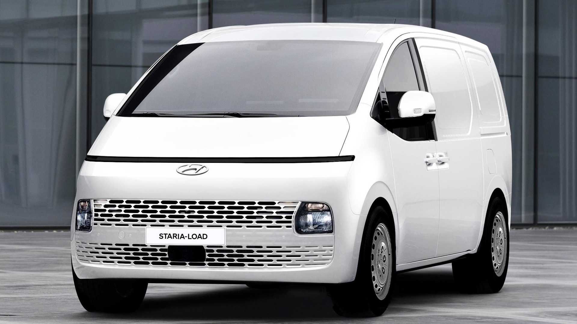 В этом марте Hyundai представила футуристический фургон Staria с 11 посадочными местами, а сегодня у него появилась более практичная версия в Австралии, и предназначена она для грузоперевозок.