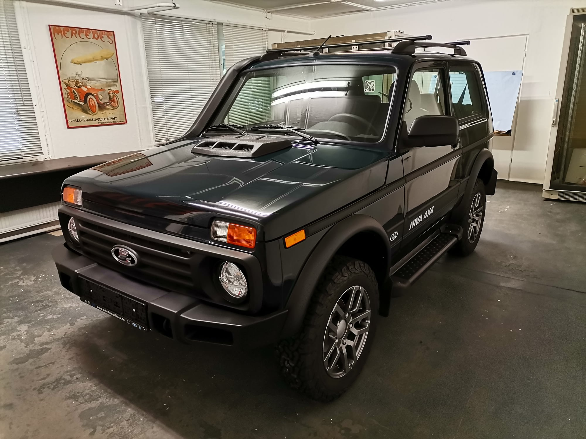 Partisan Motors has produced the first Lada Niva Legend in a special, limited batch of off-roaders designed for Germany. Russian carmaker AvtoVAZ had nothing to do with it.