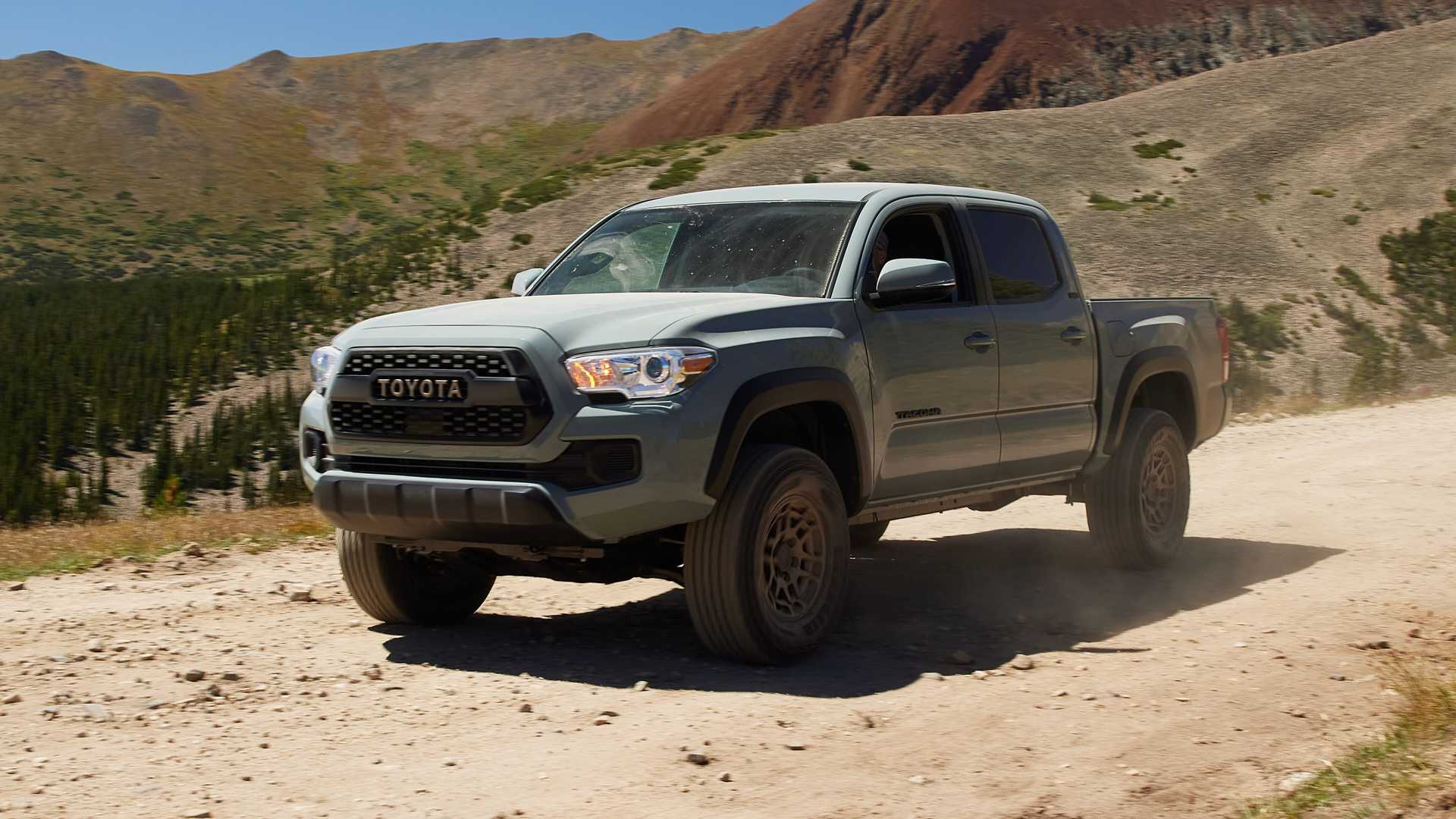 The third generation of the Toyota tundra pickup has just debuted, while the Tacoma model hasn't been updated since 2016. According to MotorTrend, this may change soon.