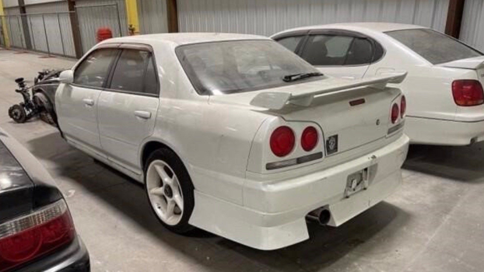 The customs service earned $148,000 from selling nearly two dozen Japanese cars illegally imported into the USA.