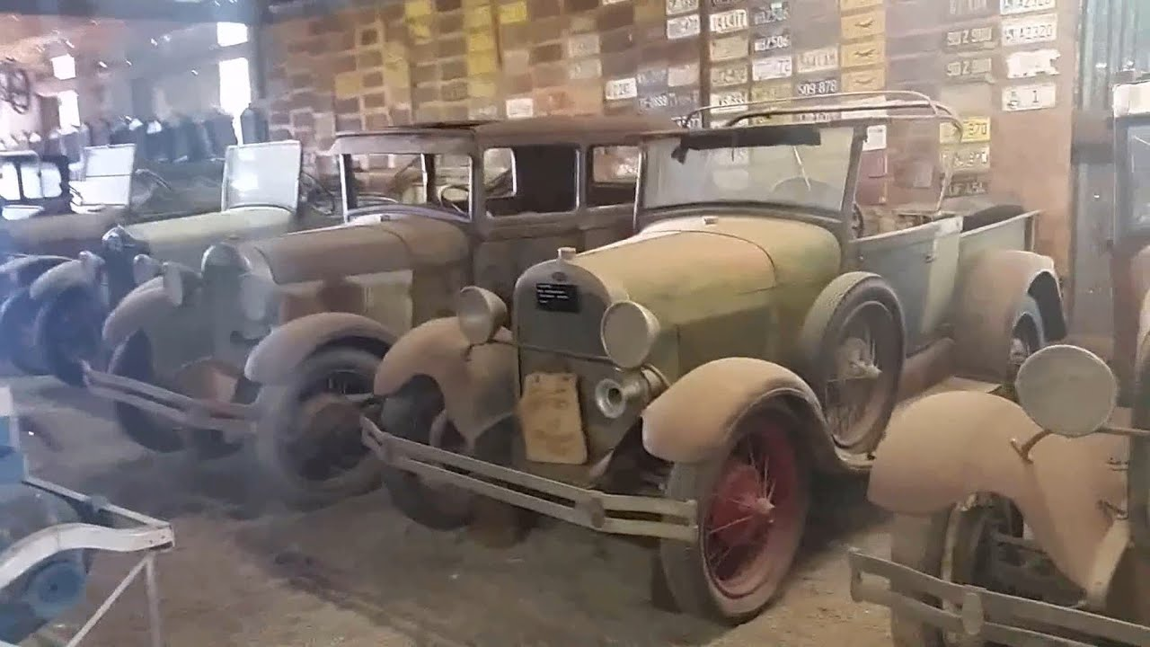 A video has recently been posted to YouTube showing an extensive collection of Ford vehicles dating back to the first half of the 20th century. Judging by the license plates, the footage might have been filmed in California.