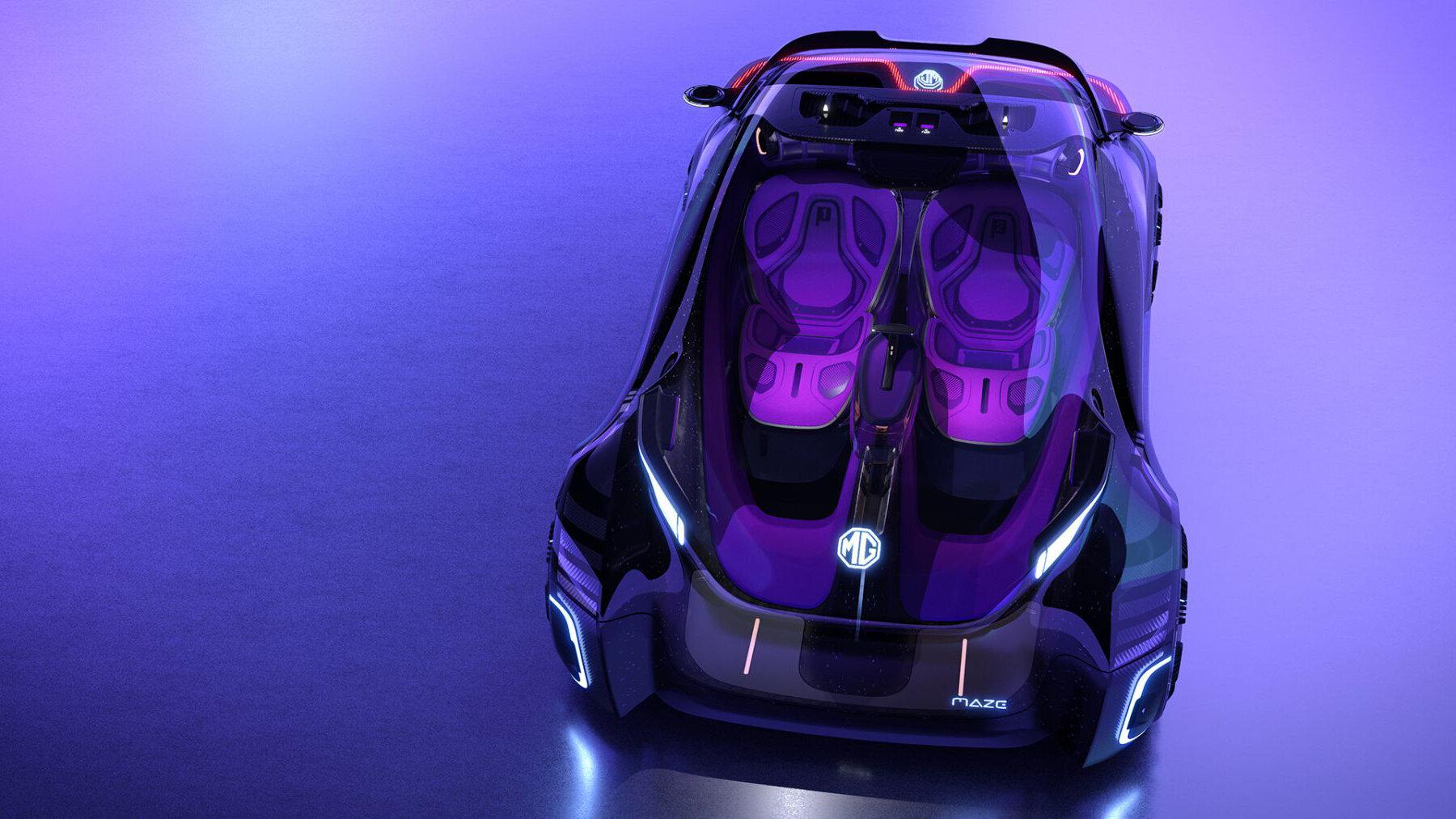 Марка MG Motor, входящая в состав китайской корпорации SAIC Motor, раскрыла первые детали о шоу-каре Maze, вдохновлённом видеоиграми. Футуристический концепт внешне похож на игровые гаджеты, а ещё его можно использовать в качестве симулятора.