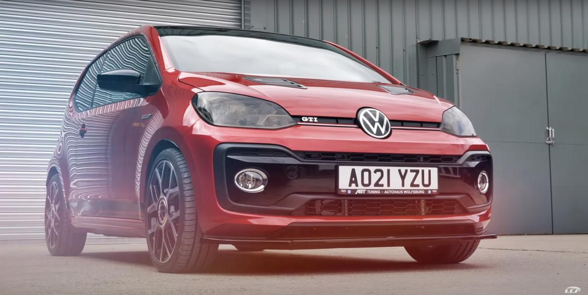 The tiny Volkswagen Up! GTI (WV120) is not a sluggish compact at all, but more so thanks to its low weight than engine power. A recent video shows what it is capable of with an extra bit of thrust.