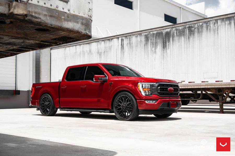Hauling heavy cargo in a pickup truck bed can lead to bent or even broken rims if their quality isn't up to standards. Vossen Wheels offers a reliable aftermarket solution of this problem for the Ford F-150.