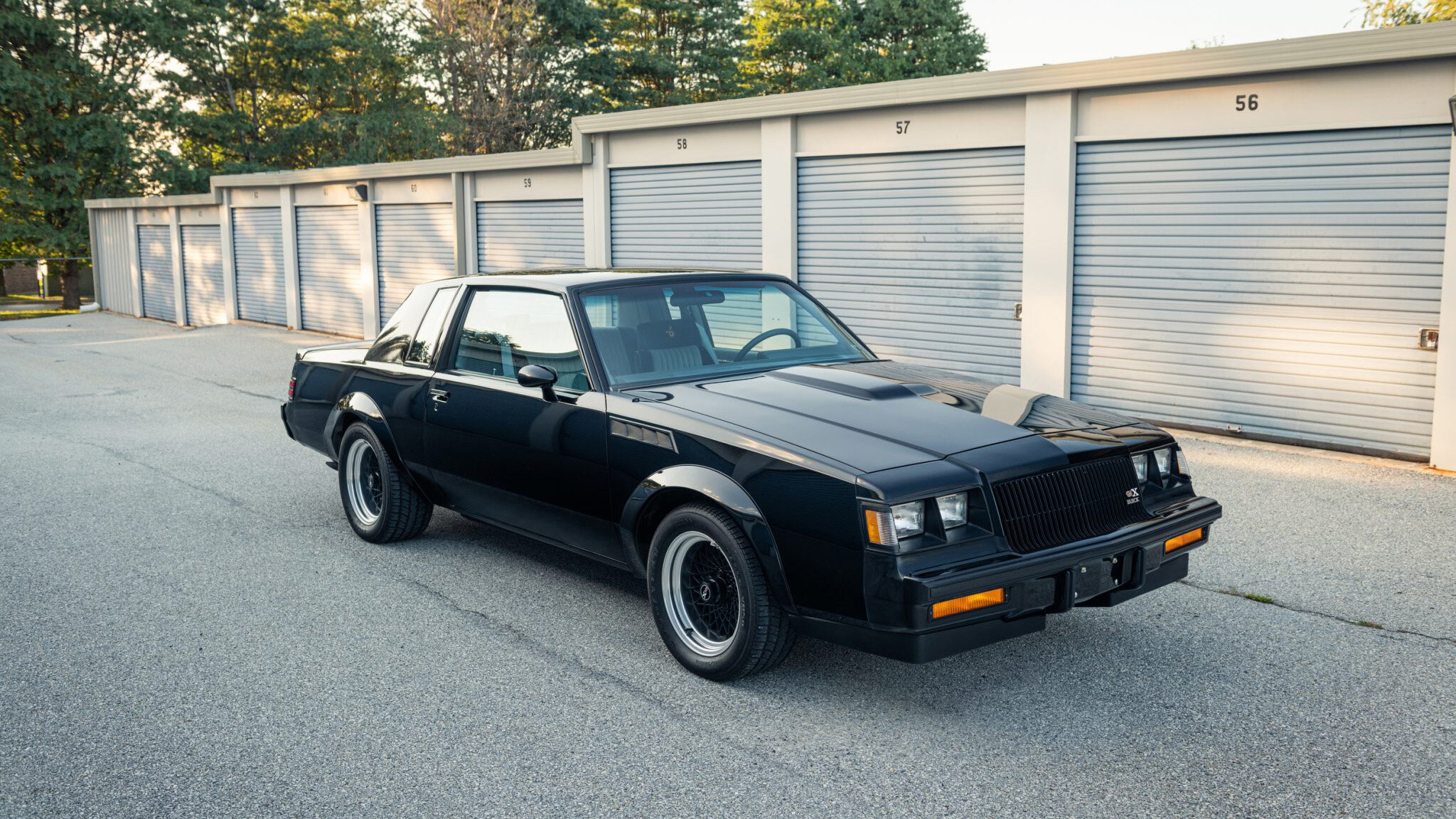 A 34-year-old Buick Grand National coupe equipped to the highest specification is being auctioned off with bidding at $115,000 so far.