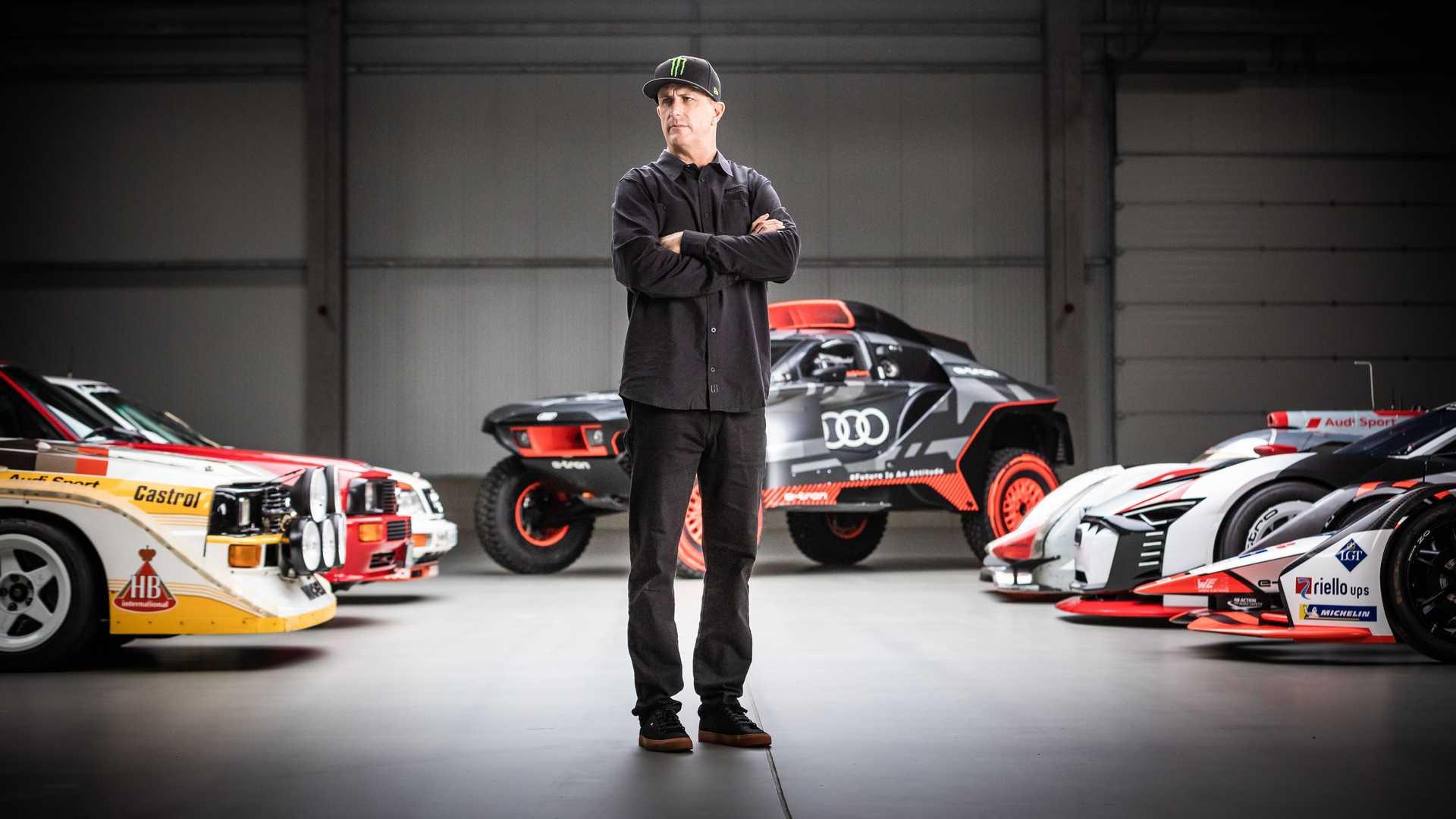 Кен Блок был лицом «Джимханы» с самого ее основания, поэтому, когда он расстался с «Фордом» в начале 2021 года, многие ломали голову, как сложится его дальнейшая судьба. Недавно шоумен объявил о работе с Audi, но подробности партнерства держались в секрете.