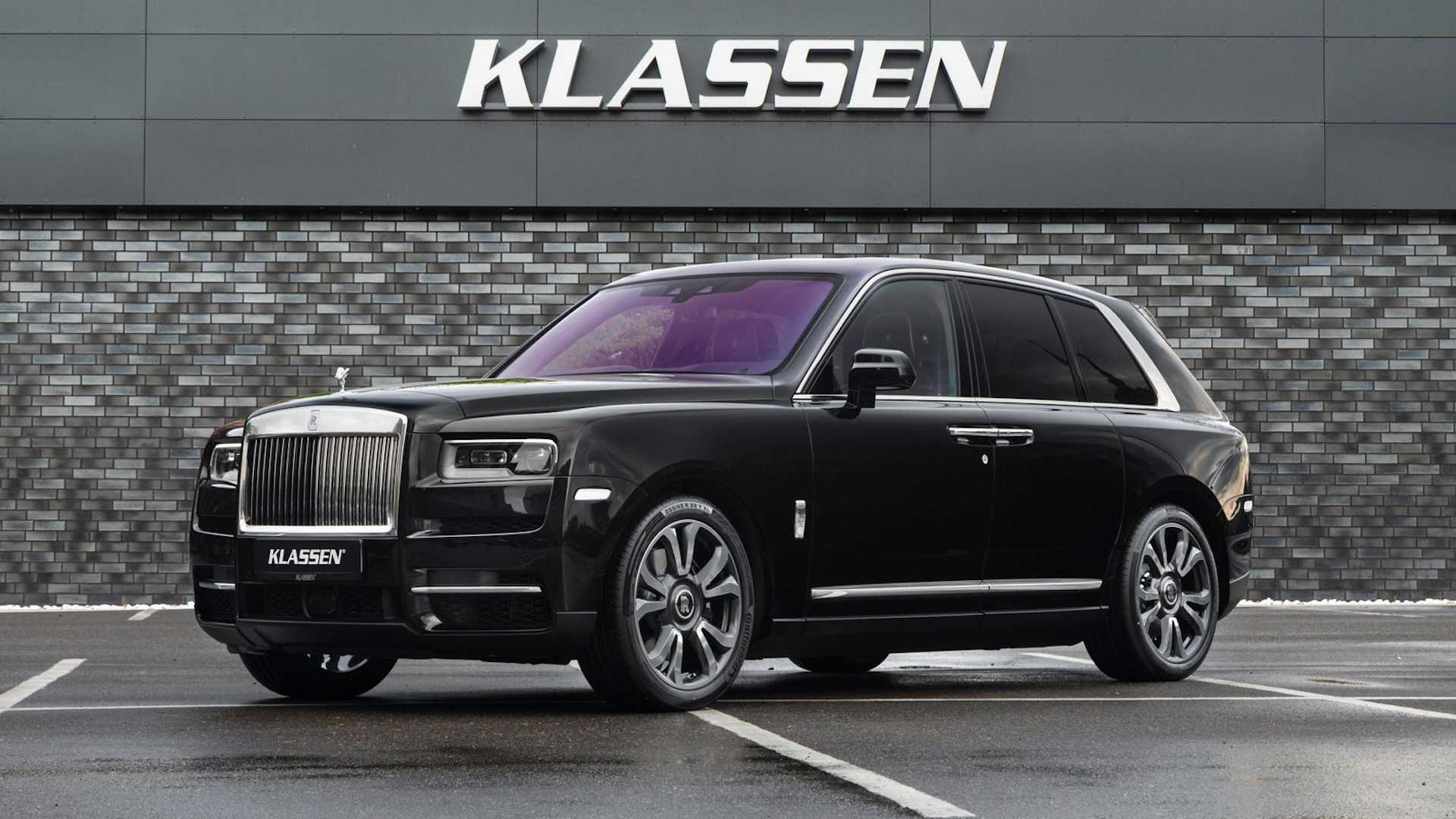 The Rolls-Royce Cullinan is an expensive, but top-notch deluxe SUV. It hits $500,000 with all boxes ticked, but if you have more to spare, Klassen has a neat offer for you that will lighten your bank account by €833,000, or $962,000.