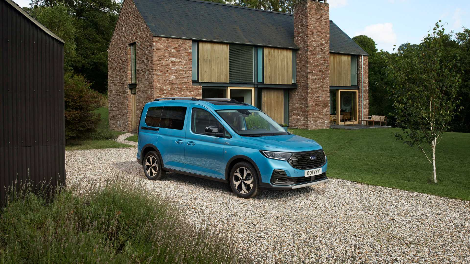 Ford Europe has unveiled the next generation of the Tourneo Connect minivan, only to reveal that it is a Volkswagen Caddy in disguise.