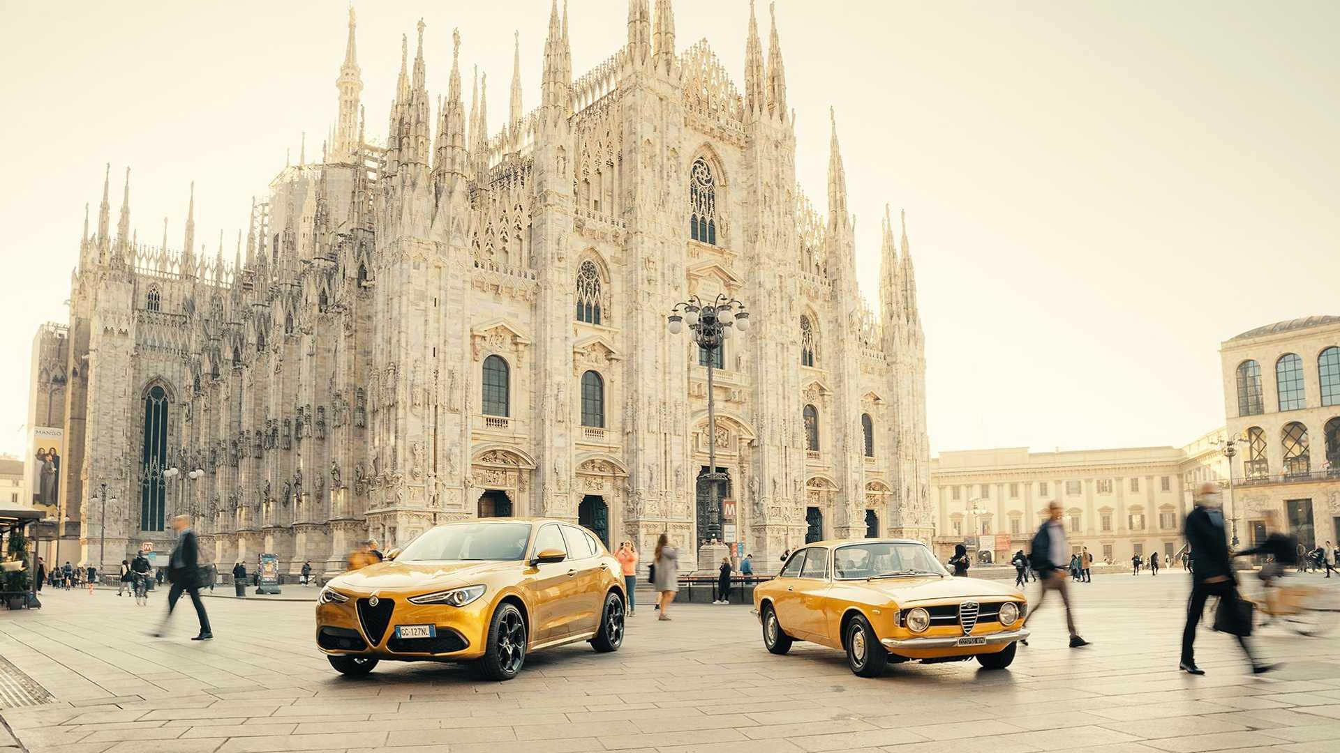 Alfa Romeo представила особую версию Stelvio, которая призвана отдать дань уважения купе GT 1300 Junior (выпускалось в 60-70 годах).