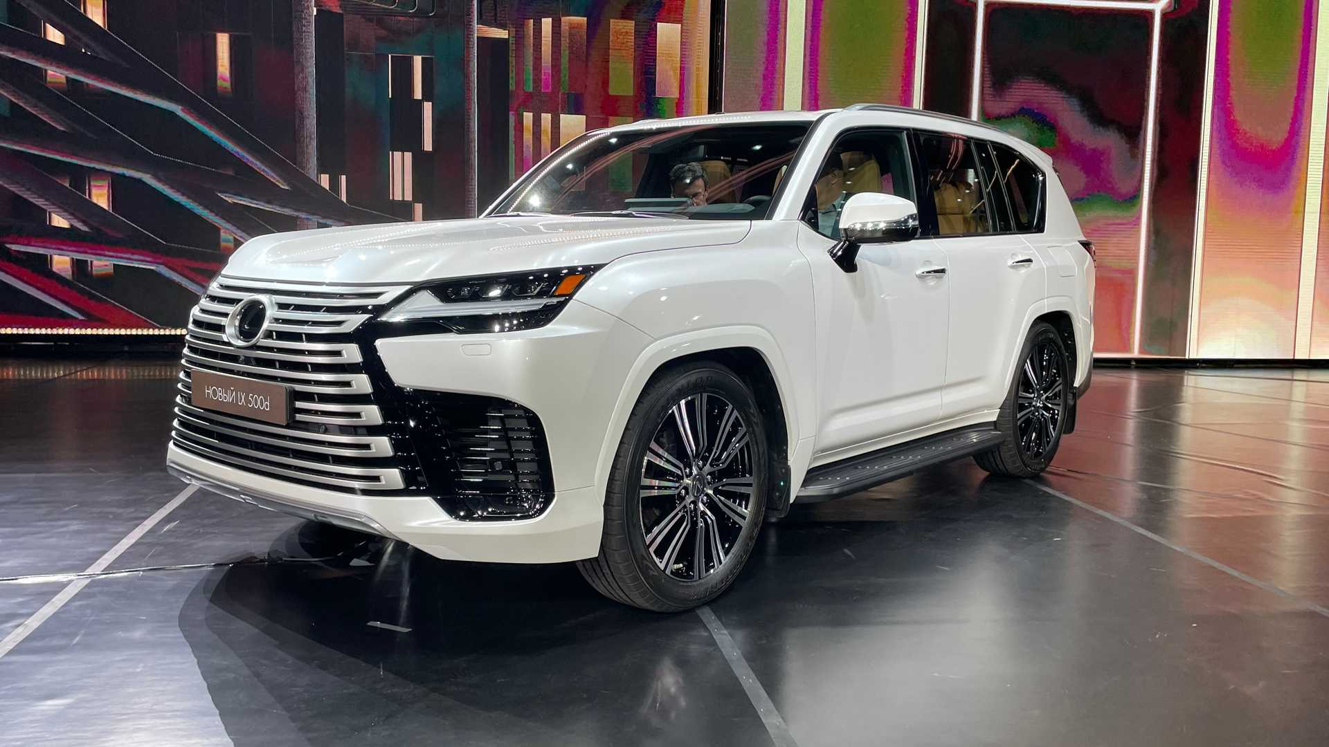 The Japanese automaker has unveiled the fourth iteration of its flagship SUV LX. Moving the model to GA-F architecture enabled it to shed 200 kg (440 pounds) of weight while becoming much more rigid at the same time.