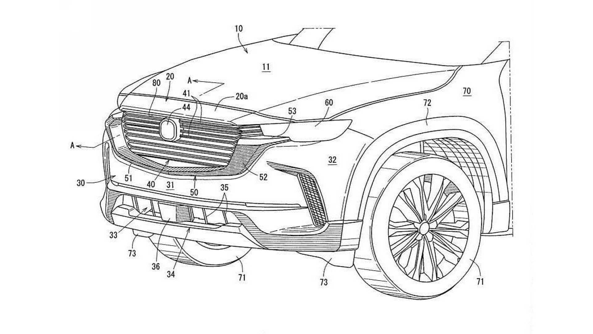 Recently published patent blueprints depict an off-roader with Mazda-esque looks, but no specifics accompanying the images. We think it might be the CX-50, a crossover SUV Mazda officially announced a week ago.