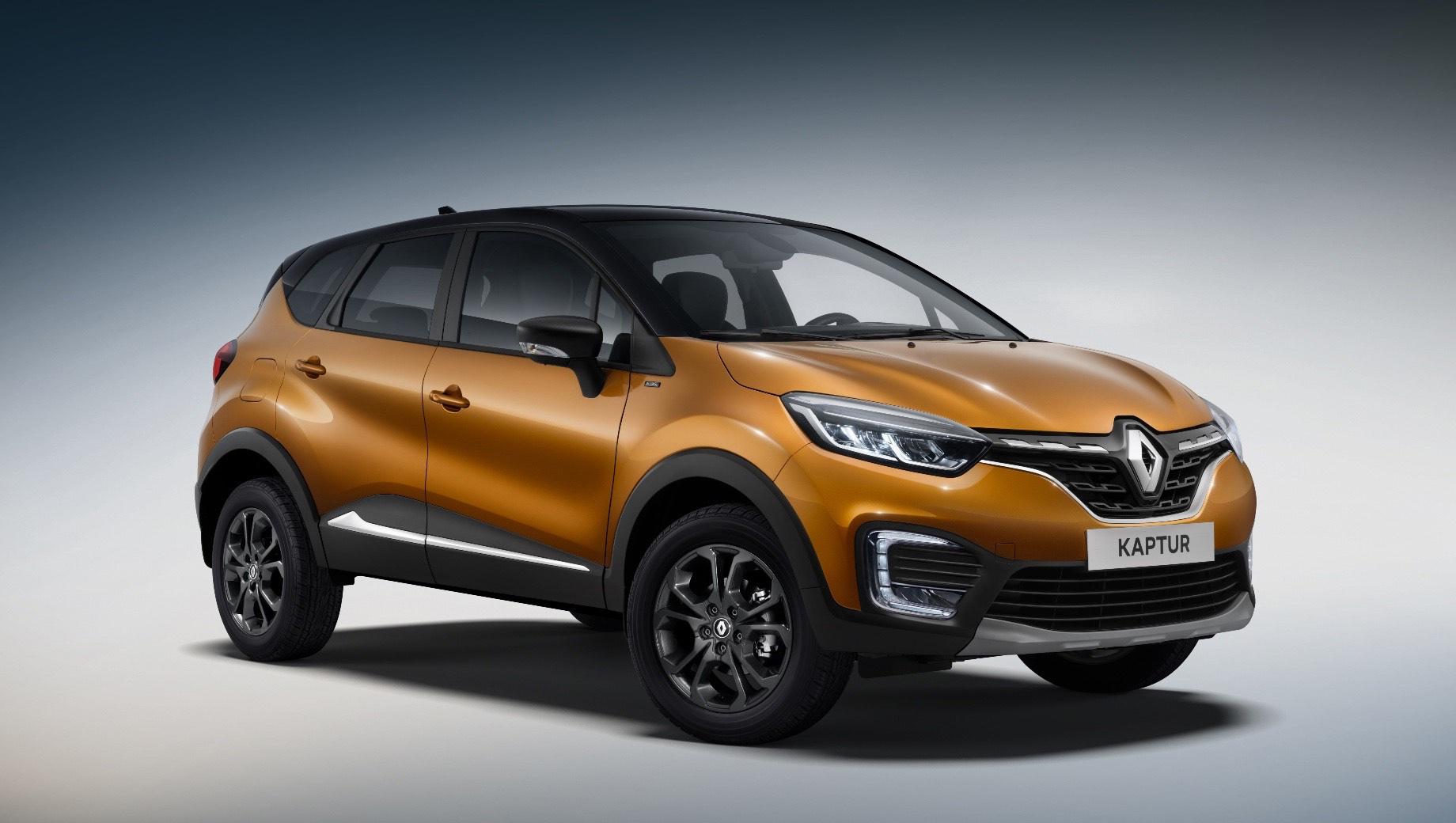 Фирма Renault выведет на российский рынок спецверсию модели Kaptur – Intense: от стандартного кроссовера (см. видео) новинка отличится оформлением кузова и отделкой интерьера. Приём заявок начнётся в следующем месяце.